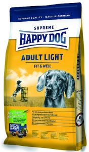 Happy Dog Supreme Fit+Well Adult Light 12.5kg + 1kg